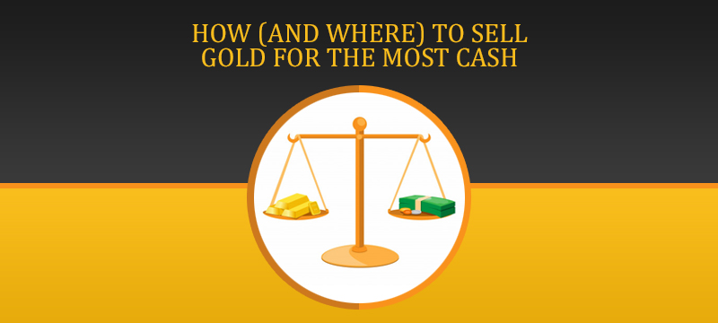 How and where to sell gold