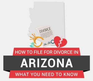 How to file divorce in Arizona