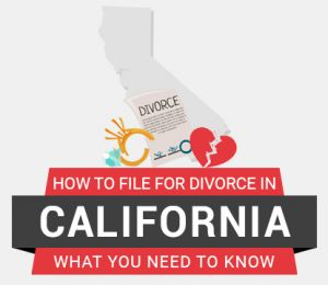 How to file divorce in California