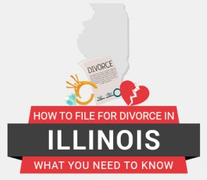 How to file divorce in Illinois
