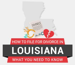 How to file divorce in Louisiana