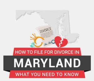 How to file divorce in Maryland