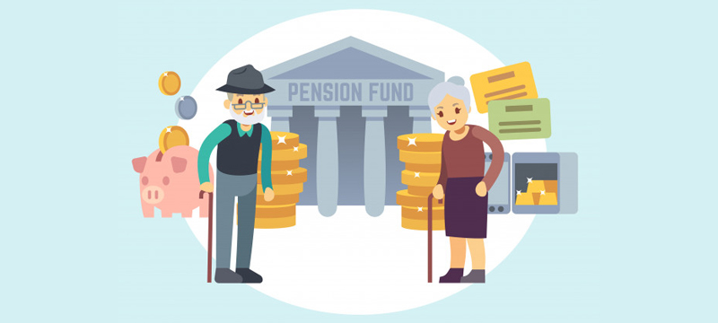 Pensions and retirement plans divided in a divorce