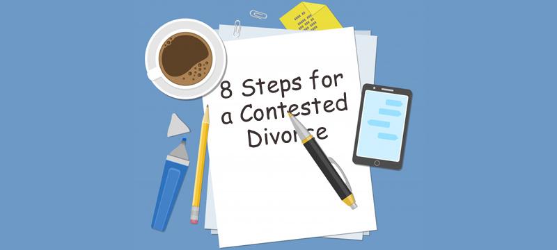 Contested Divorce Steps
