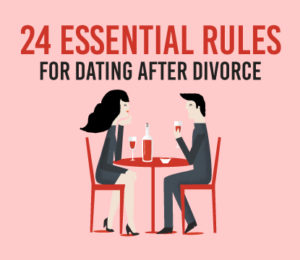 How to start dating after divorce