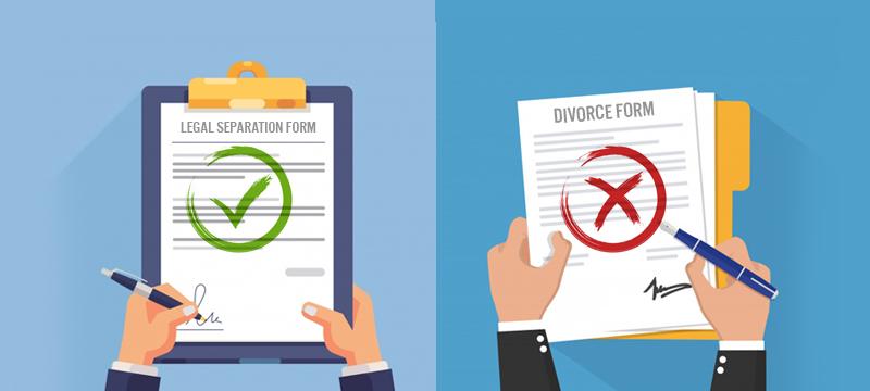 Legal Separation instead of a Divorce