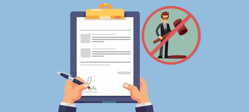 File for Divorce Without an Attorney