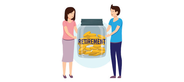 dividing pensions and retirement in divorce in Tennessee