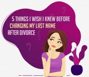 changing last name after divorce