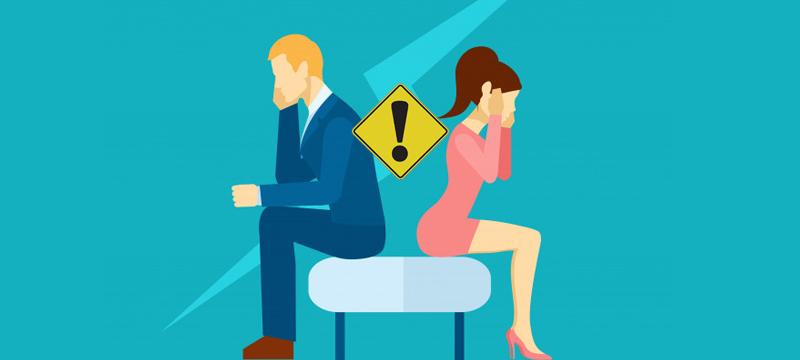 warning signs of divorce