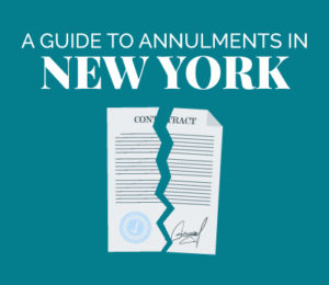 annulment in new york