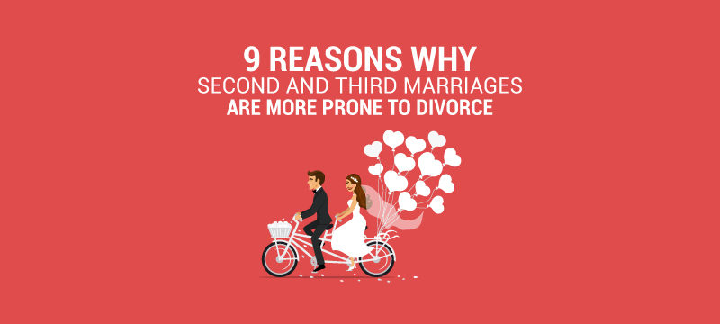 why second marriages are more prone to divorce