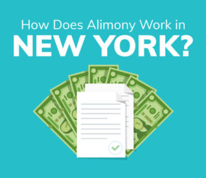 how alimony works in New York