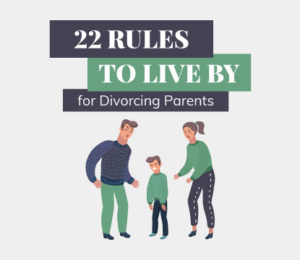 divorce rules for co-parenting