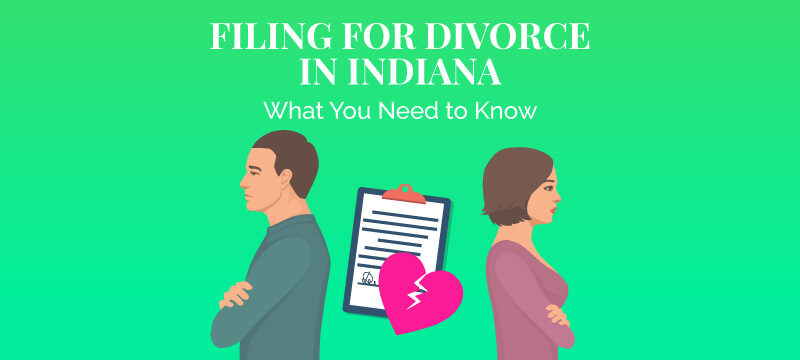 children residing after divorce in indiana