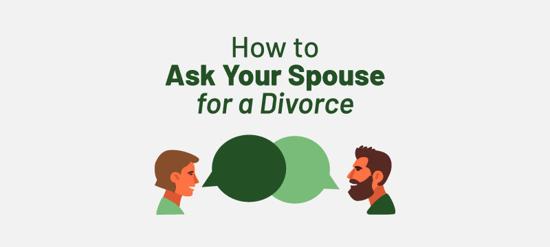 how to ask your husband or wife for a divorce