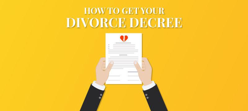 How to Get Your Divorce Decree