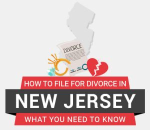 How to file divorce in New Jersey
