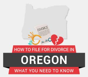 How to file divorce in Oregon