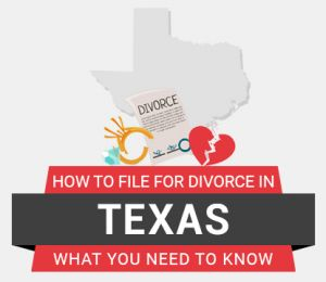 How to file divorce in Texas
