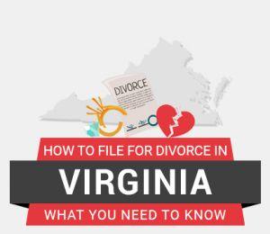 How to file divorce in Virginia