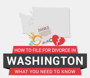 How to file divorce in Washington