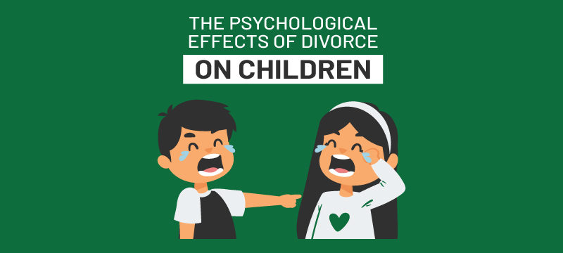 What are the psychological effects of divorce on kids