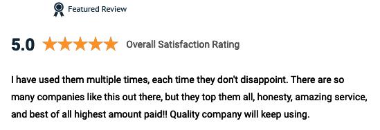 cash for gold usa reviews