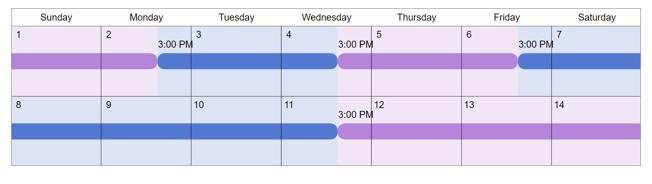 2-2-5-5 custody schedule
