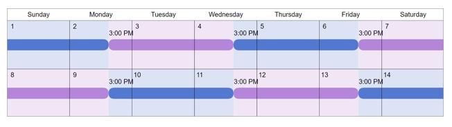 2-2-3 visitation schedule