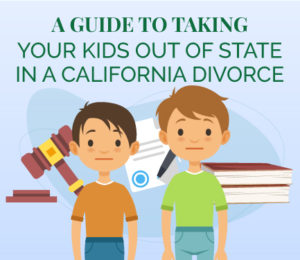 Taking your child out of state California