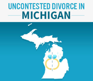 uncontested divorce in michigan