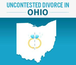 uncontested divorce in ohio