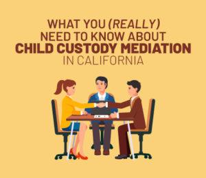 child custody mediation in california