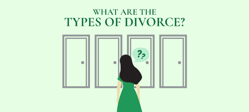what are the types of divorce