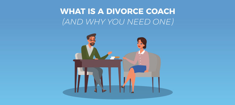 What is a Divorce Coach people sitting at table and talking