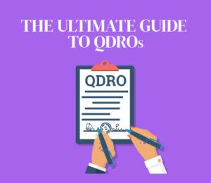 QDRO to divide retirement plans in divorce