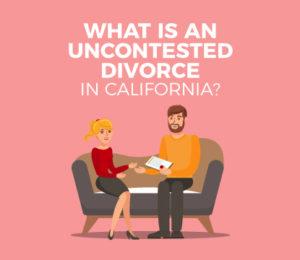uncontested divorce in california
