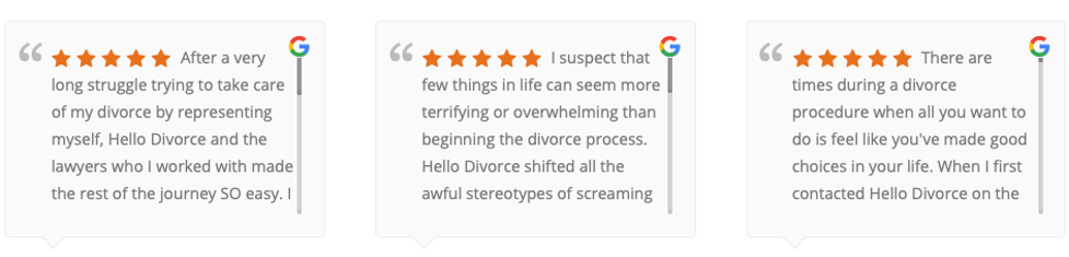hello divorce review
